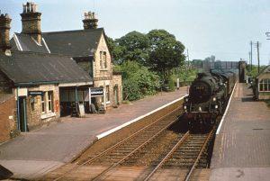Gamlingay Railway Station. June 1963